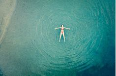 Just floating