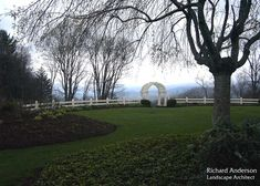 Richard Anderson :: Landscape Architect :: Portfolio - breath taking view and perfectly landscaped.
