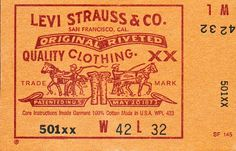 levi's label - Google Search