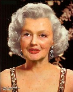 marilyn monroe as an older lady