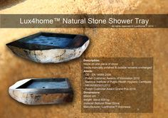 River Stone Showertray... Lux4home™