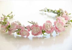 Свадьба : Свадебный венок с мини-пионами - В НАЛИЧИИ - Fito Art