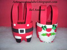 Escolinha Bíblica da Garotada: Lembrancinhas de natal feitos com garrafas pet... ...