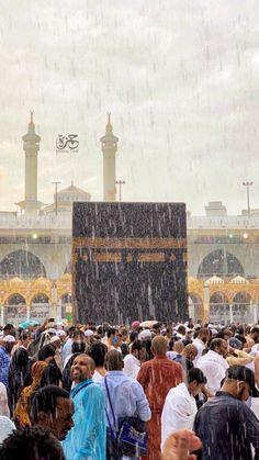 Masha allah Rain in Makkah sharif. mekka mekkah_madinah mekkahalmukarramah mekkah makka makkah_al_mukaaramah makkah makkamadina ahmad_ar Mecca Masjid, Mecca Islam, Masjid Al Haram, Mecca Wallpaper, Islamic Wallpaper, Mekkah, Religion, Dubai City, Islamic Art Calligraphy