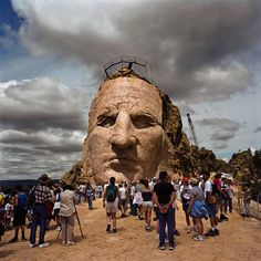 Crazy Horse Monument, only 15 miles away from Whispering Winds Cottages