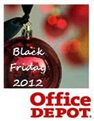 Office Depot Black Friday Advertisement 2012