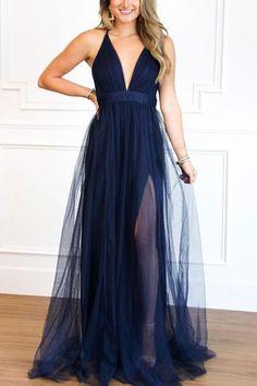 Backless Maxi Dresses, Chiffon Maxi, Event Dresses, Ruffle Dress, High Collar, Dress Outfits, V Neck, Clothes, Bloom