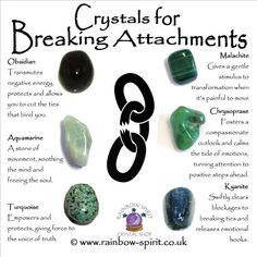 Crystal Set for Breaking Attachments Crystal Healing Stones, Crystal Magic, Crystal Grid, Crystals For Healing, Grounding Crystals, Healing Rocks, Chakra Crystals, Crystals And Gemstones, Stones And Crystals
