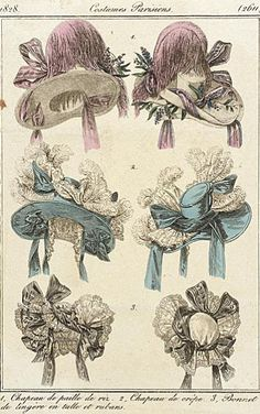 Early 19th Century hats...