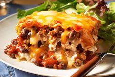 Make-Ahead Chili & Cheese Lasagna