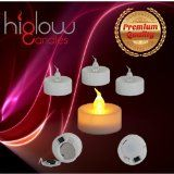 #3: [Stunning Flameless LED Tea Light Candles]  Realistic Battery-powered Flameless Candles  Beutiful and Elegant Unscented LED Candles  The Perfect Wedding Decoration  (12 Pack)  Fake Candles  Eglow LED