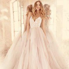 Nicoletta from @misshayleypaige . It's here @bridalbeginning #sayyestothedress #misshayleypaige #bridetobe #theknot #weddinggowns #bridalbeginning #pittsburghbrides #jlmcouture #weloveit #theone