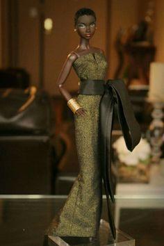 Nadja in Randall Craig 1 Pretty Dolls, Beautiful Dolls, Fashion Dolls, Girl Fashion, Barbie Wardrobe, Glam Doll, African American Dolls, Black Barbie, Afro