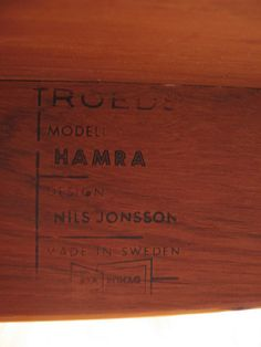 Nils Jonsson Maker's Mark 1960
