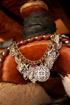 The Vaquera pendant necklace  rockstar cowgirl...saddle up!