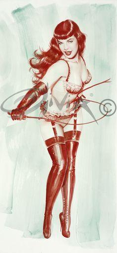 Bettie...love her whip