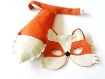 Fox Mask and Tail for Children, Kids Carnival Costume Eco Friendly Dress up and Pretend Play Toy for Girls Boys and Toddlers. via Etsy. Kids Fox Costume, Costume Garçon, Boy Halloween Costumes, Toddler Costumes, Boy Costumes, Fox Halloween, Renard Costume, Sewing For Kids, Diy For Kids