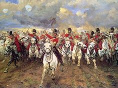"""""""Battle of Waterloo bicentenary: Scots Greys to charge again in re-enactment to mark anniversary of Napoleon's final defeat."""" (Independent) (http://www.independent.co.uk/news/world/world-history/battle-of-waterloo-bicentenary-scots-greys-to-charge-again-in-reenactment-to-mark-anniversary-of-napoleons-final-defeat-10016057.html"""