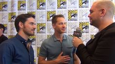 Once Upon A Fan - SDCC 2016 - Colin O'Donoghue and Josh Dallas