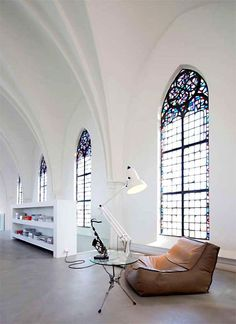 The Ultimate in Upcycling: Homes in Converted Churches | Apartment Therapy