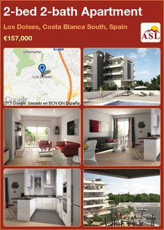 2-bed 2-bath Apartment in Los Dolses, Costa Blanca South, Spain ►€157,000 #PropertyForSaleInSpain