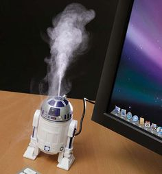 Awesome!!   R2D2 USB Humidifier is Perfect for Your Office