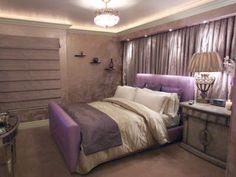 Resultado de imagen para dormitorios morados con marron