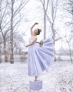 """13.6k Likes, 227 Comments - Rosie Hardy 🌿 (@georgiarosehardy) on Instagram: """"D is for Dance!❄️ The world looks like a snow globe right now! ☺️ I was going to shoot my challenge…"""""""