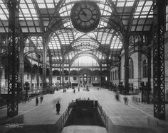 """""""Penn Station did not make you feel comfortable; it made you feel important."""""""