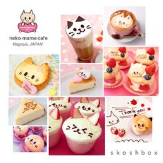 The NekoMame Cafe whips up some adorably simple Cat Sweets!