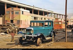 RailPictures.Net Photo: 16 Tacna-Arica Railroad Inspection Car at Tacna Shops, Peru by Steve Patterson