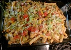 Cheeseburger and French fry casserole Recipe -  Very Tasty Food. Let's make it!