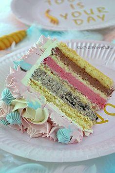 krem mus wisniowy, truflowy i oreo Ciara And I, Vanilla Cake, Oreo, Cupcakes, Sweets, Party, Food, Drink, Recipe For Coconut Cake