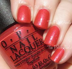 """OPI """"Go With the Lava Flow"""" From the Spring 2015 Hawaii Collection"""