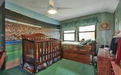 Baby's Room, Bed, Crib, Bedroom, Sleep, Baby, Child, Son, Daughter