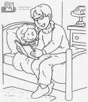 Papa leest voor