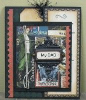 """""""My Dad"""" Good ol' Sport card by Annette Curry #graphic45 #cards"""