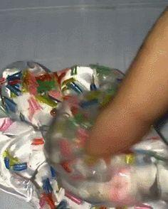 squishy stretchy slime!
