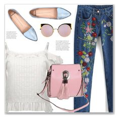 """""""#78"""" by lejla-7 ❤ liked on Polyvore featuring Mollini and Fendi"""