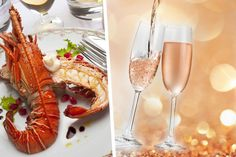 3-Course Lobster Meal, Champagne & Panoramic London Skyline