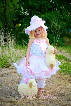 Little Bo Peep Costume  Halloween 2012 Collection by by FabTutus, $90.00