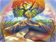 The Magic Spider: The Tree of Life: Watering Your Roots