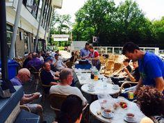 Een welverdiend soepje voor de vrijwilligers van vandaag #KDL2014 #DLHG #Babberich  http://www.kringdagliemers.nl #Zevenaar. Maandag 19 mei 2014. Via twitter @Gildestjan.