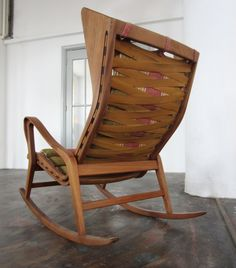 I think this is the best Rocking chair out there!  Michael C. P. Rahal Rahal Design Studio Rahal Farms Gio Ponti rocking chair - Produced by Cassina