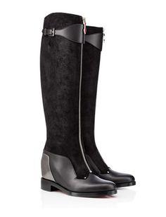 Christian Louboutin Foresta Flat Tall Boots