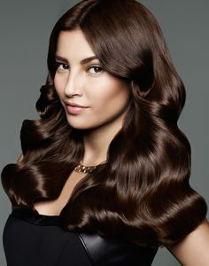 In addition to crowning you with trendy tresses, multiple long layers add substantial volume to your hair making it appear healthy, thick and stylish Beautiful Long Hair, Gorgeous Hair, Shiny Hair, Dark Hair, Indian Hair Cuts, Rebonded Hair, Medium Brown Hair, Brunette Makeup, Hair Photography