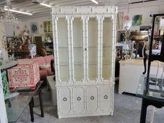 Palm Beach Faux Bamboo Cabinet