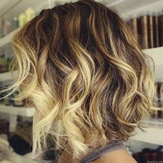 Wavy bob hairstyles look free-flowing, voluminous, and bouncy. The graduated layers or messy uniform layers can also be mixed into the medium wavy hairstyle. Wavy bob hairstyles can make your thin hair fuller with volume and shape. Waves need some hairspray for better bouncy effect. So after getting the wavy bob, you'd better apply some[Read the Rest]