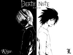 imagenes blanco y negro death note | THIRD KIRA WAS BORN