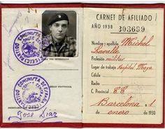 Spain - 1938. - GC - Michel Lavalle - Les brigades internationales